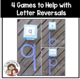 4 Games for Helping with Letter Reversals