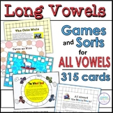 Long Vowels ~ Games for A, E, and O