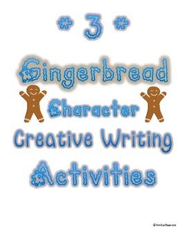 3 Gingerbread Man Creative Writing Activities