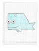 Coordinate Graphing Pictures:  a Seal, a Whale, & a Dolphin.   All quadrant one