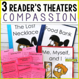3 Growth Mindset Reader's Theaters: Compassion Set One