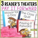 3 Growth Mindset Reader's Theaters: Pay it Forward