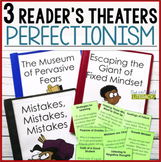 3 Growth Mindset Reader's Theaters: Perfectionism