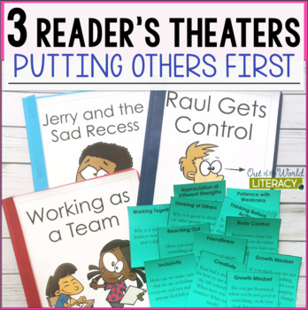 3 Growth Mindset Reader's Theaters: Putting Others First