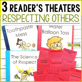 3 Growth Mindset Reader's Theaters: Respecting Others
