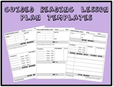 3 Guided Reading Lesson Plan Templates