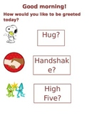 3-H Greeting Poster