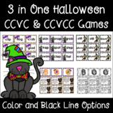 CCVC & CCVCC Halloween Word Games