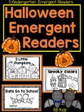 3 Halloween/ October Emergent Readers {Bats, Pumpkins, Spiders} Kindergarten