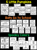 3 Halloween/ October Emergent Readers {Bats, Pumpkins, Spi