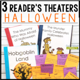 3 Halloween Reader's Theaters: Distance Learning Ready!
