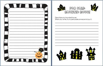3 Spooktacular Halloween Writing Activities