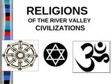 UNIT 1 LESSON 3. Hinduism, Buddhism, Judaism POWERPOINT
