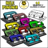 Hole Puncher Clipart (Stationeries)