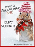 3 Word Searches - Christmas & Hanukkah - 12 Days of Christmas Freebies - Day 2
