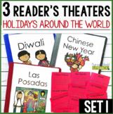 3 Holidays Around the World Reader's Theaters: Set 1