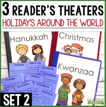 3 Holidays Around the World Reader's Theaters: Set 2