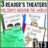 3 Holidays Around the World Reader's Theaters: Set 3