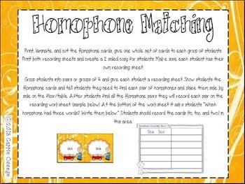 3 H's (Homophones, Homographs, Homonyms)