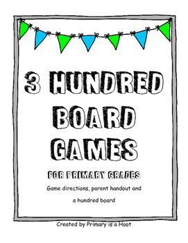 3 Hundred Board Games
