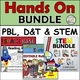 3 IN 1! STEM, PBL & D&T Hands on Activities with Problem Solving & Math