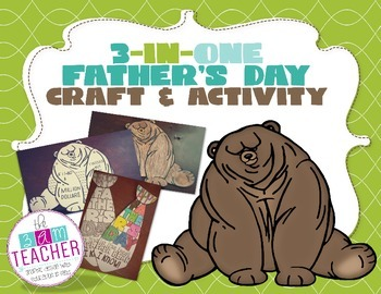 3-IN-ONE Father's Day Craft & Activity