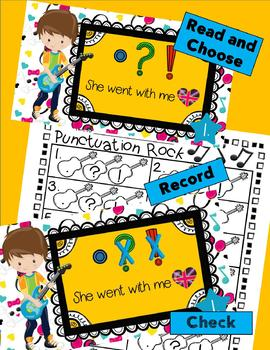 3 INTERACTIVE DIGITAL TASK CARD STATIONS - Ending Punctuation