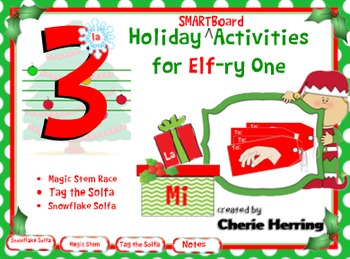 3 IWB Musical Activities for Elf-ry One