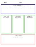 3 Idea Writing - Graphic Organizer