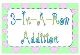 3-In-A-Row Addition Dice Game - Common Core Math - Grades K, 1, & 2