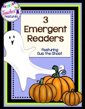 Halloween Emergent Readers GHOST THEME