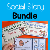 Bundled Social Stories for Kicking, Biting and Hitting
