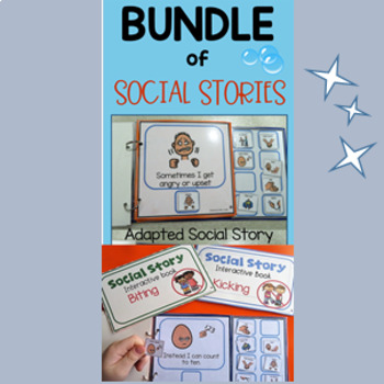 Bundled Social Stories for Kicking, Biting and Hitting