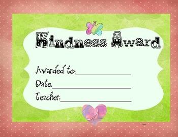 3 Kindness Awards