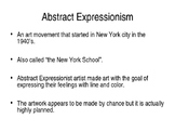 3 Kinds of Abstract Expressionism.