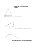 3 Kinds of Triangles