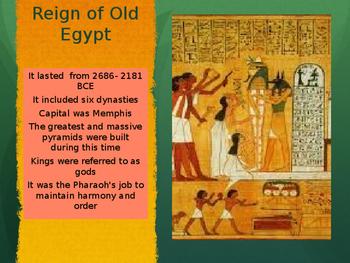 3 Kingdoms of Egypt