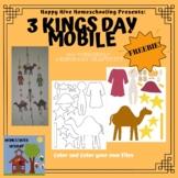 3 Kings Day Craft - Hanging Mobile