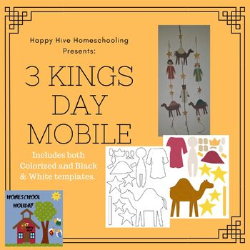 3 Kings Day Mobile and Crown Craft