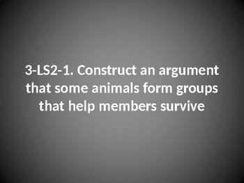 3 LS2-1 Group Survival PowerPoint