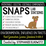3-LS3-2 & MS-LS1-5 Environmental Influence on Traits Lab Stations Activity