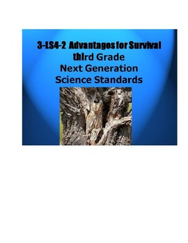 3-LS4-2.  Advantages For Survival