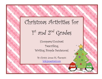 Christmas Language Arts  Activities (Gr 1-2)