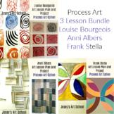 3 Lesson Bundle Process Art Bourgeois Albers Stella Art Le