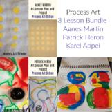 3 Lesson Bundle Process Art Martin Heron Appel Art Lessons