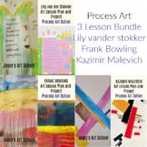 3 Lesson Bundle Process Art Stokker Bowling Malevich Art L