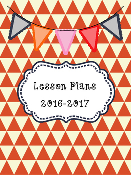 3 Lesson Plan Binder Covers
