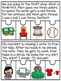 3 Letter Blends Trigraphs Reading Fluency Puzzles