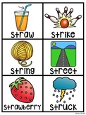 3 Letter Blends Pocket Chart Centers and Materials (Trigraphs Activities)