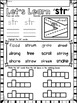 3 Letter Blends and Trigraphs BUNDLE Phonics Literacy NO PREP Printables